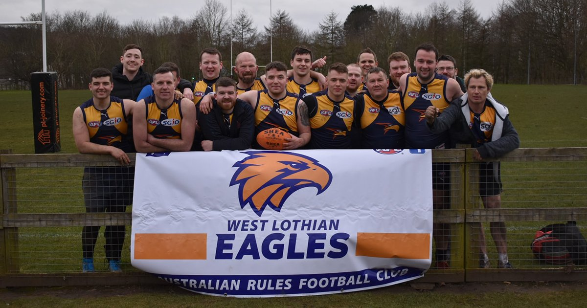 West Lothian Eagles at the Ashley Palmer Cup