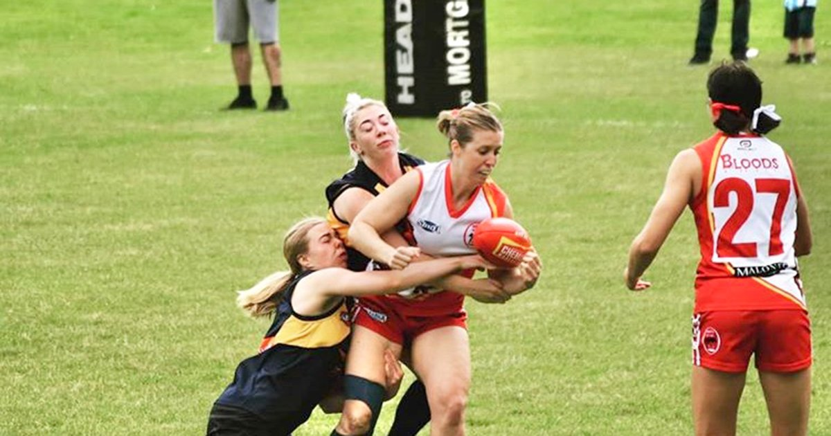 West Lothian Women's Land a Big Tackle