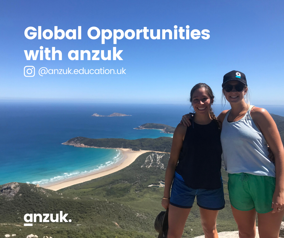 Global opportunities with anzuk.